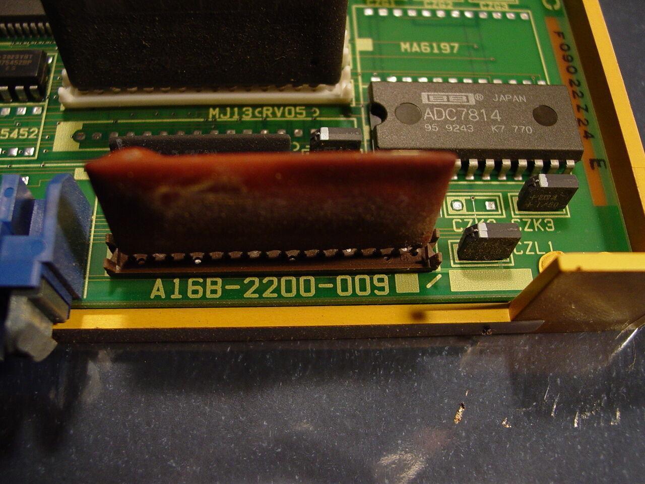 Fanuc Control Board Axis Control Board A16B-2200-0092 / 07A