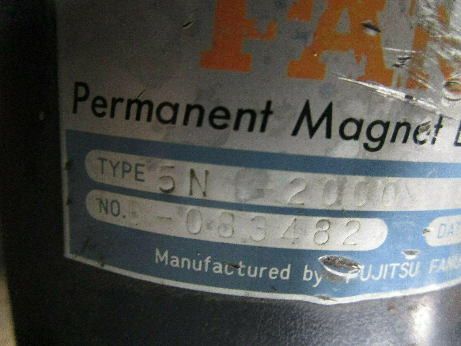 Fanuc DC Servo Motor 5N-2000