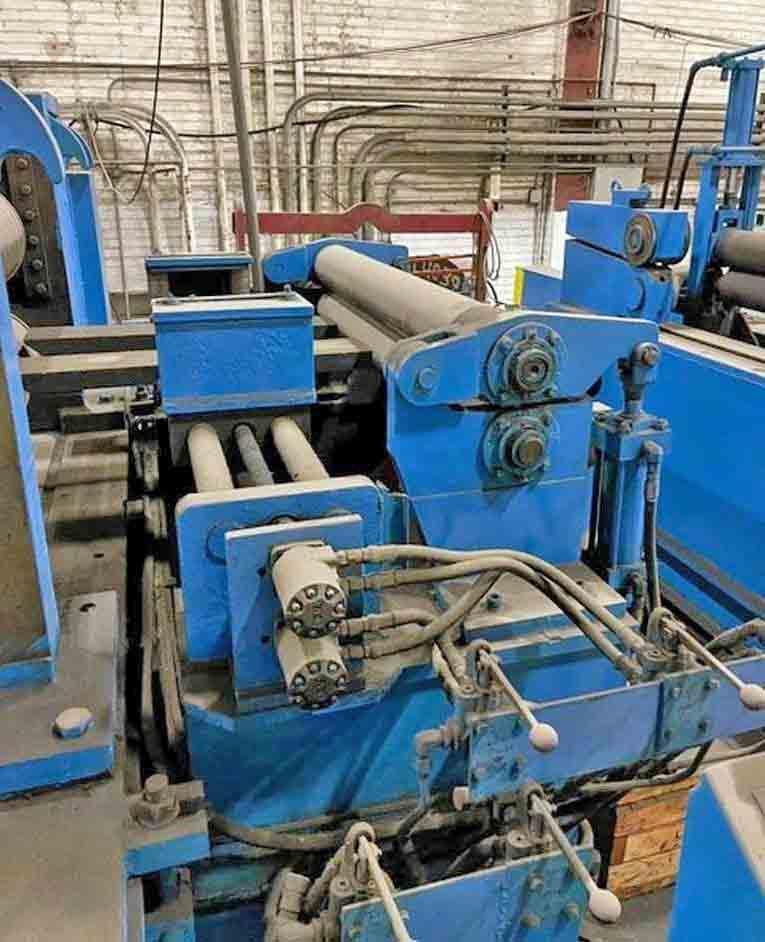 "48"" x 10"" x 50,000# Terminal Equipment Slitting Line"