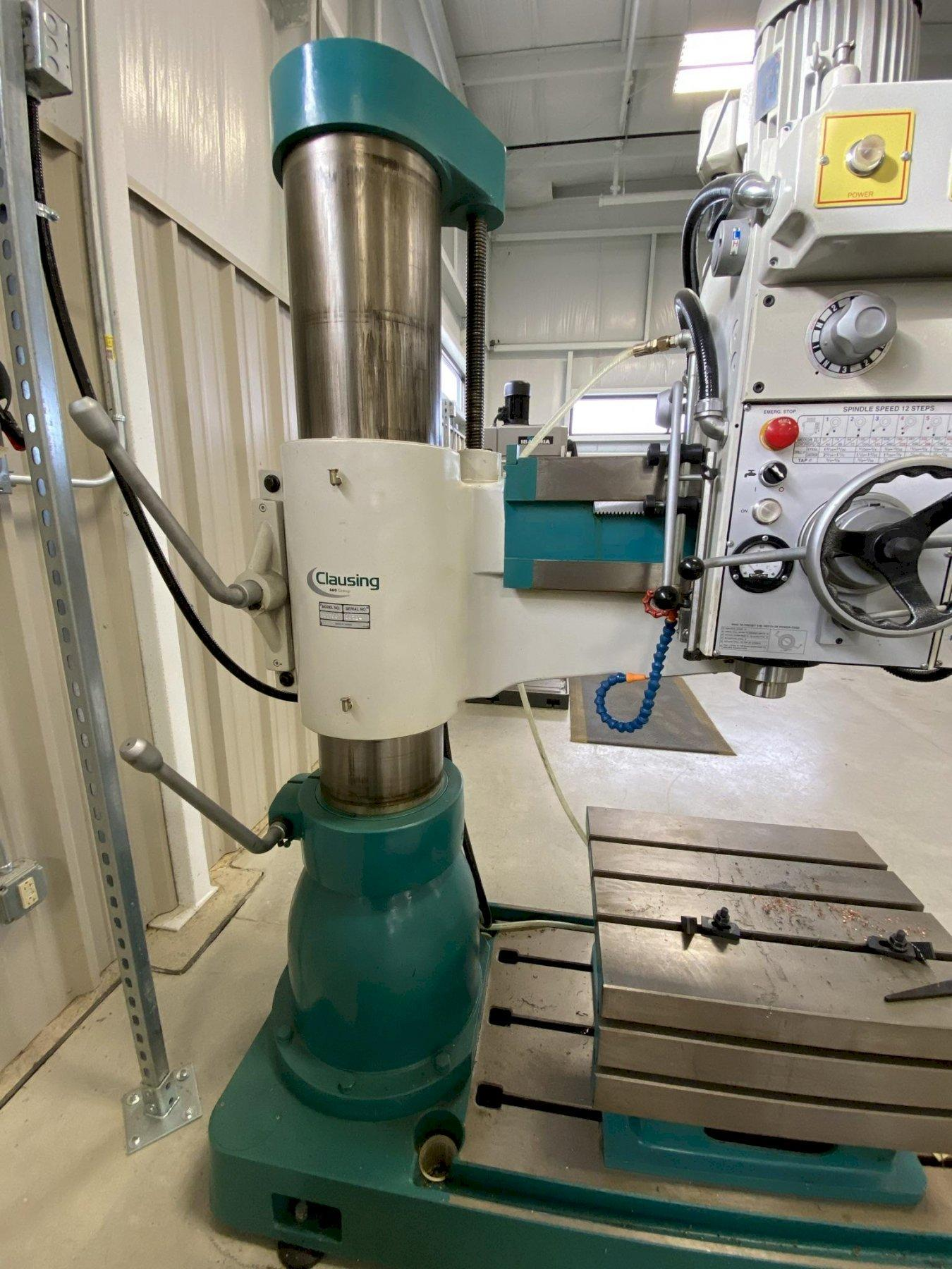 """USED CLAUSING 10"""" X 43"""" RADIAL ARM DRILL MODEL CL1100, Year 2014, Stock# 10839"""