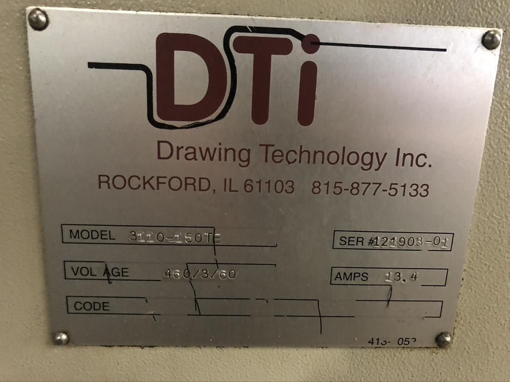 "5/16""  DTI Model 3110-150TE Inline Wire Drawer"