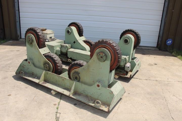 "15 Ton x 56"" Bode #sar-300 Self Aligning Tank Turning Rolls"