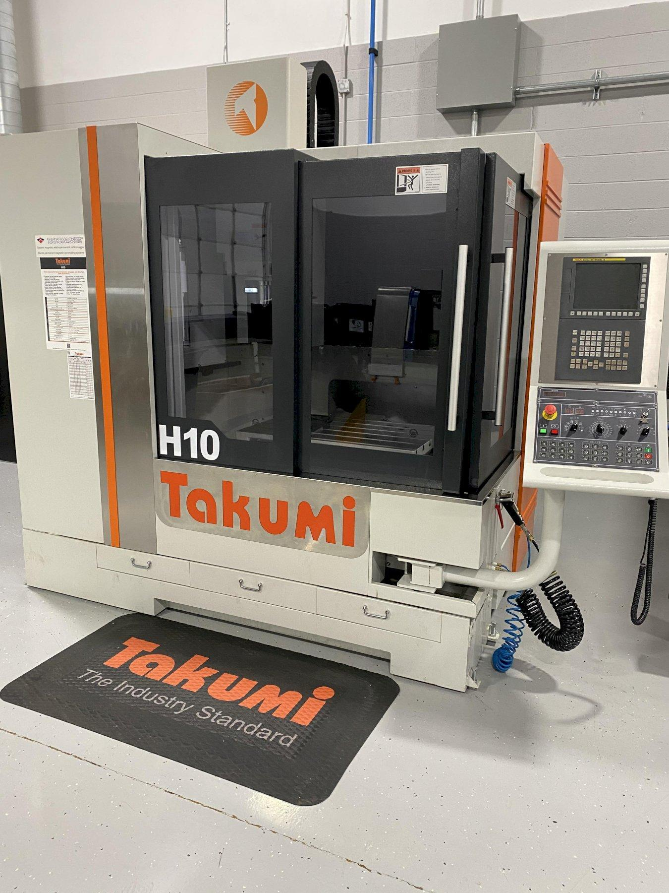 2016 TAKUMI H10 VERTICAL MACHINING CENTER