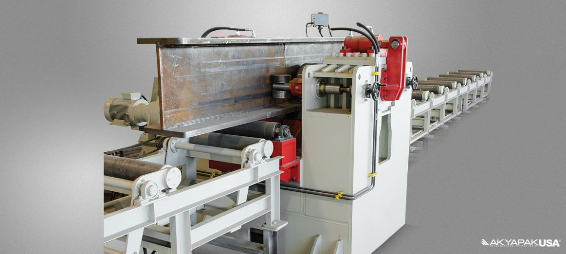 AKYAPAK BPS H Beam Straightening Machine