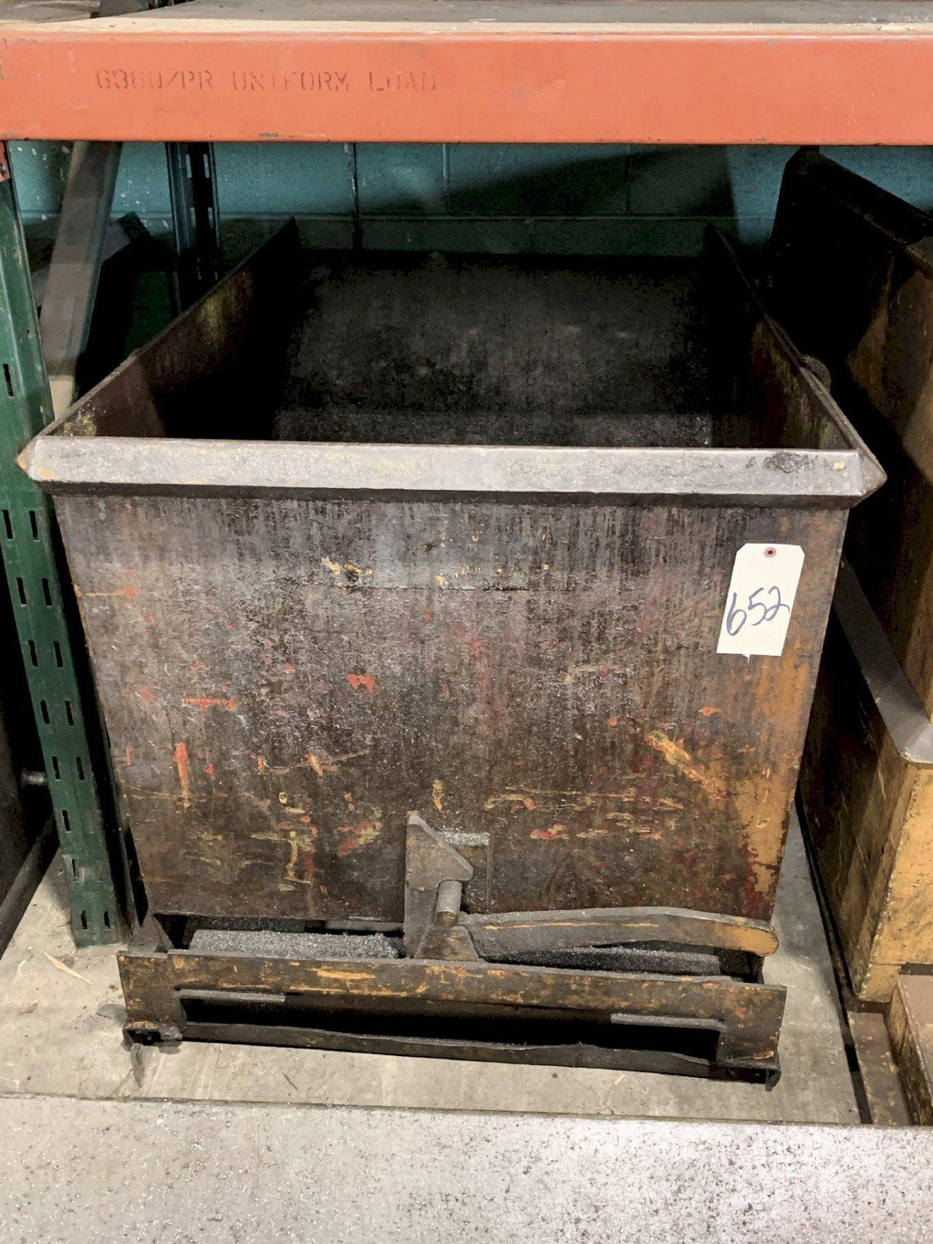 2 CUBIC YARD DUMP HOPPER. STOCK # 0951420