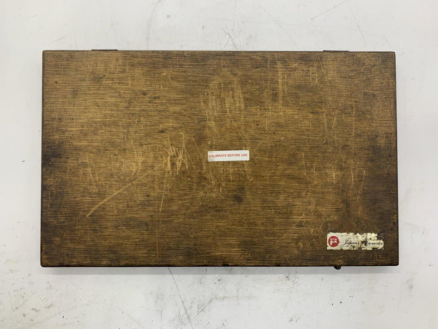 "10-11"" NSK JAPAN OUTSIDE MICROMETER N9452 [.0001 GRADUATION] STOCK #15539"