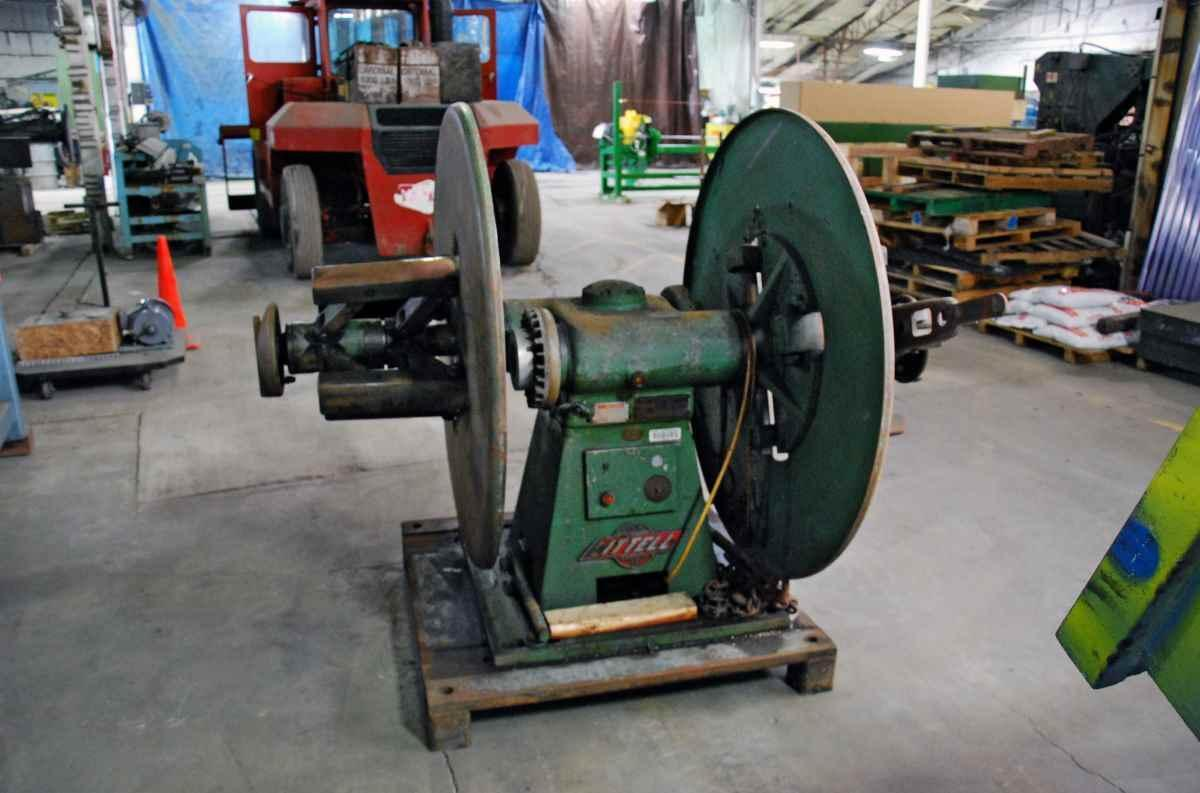 LITTELL Pull Off Double End Coil Reel Uncoiler 2,500 Lbs.