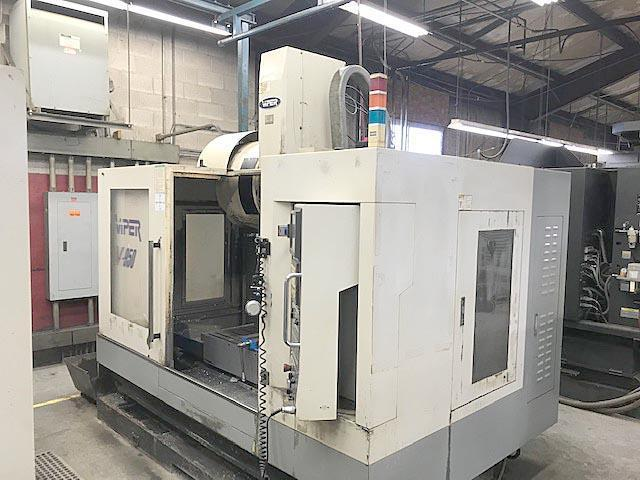 """MIGHTY VIPER V950, Fanuc 18i CNC Control, 50"""" x 18"""" Table, X=40"""", Y=20"""", Z=25"""", 8000 RPM, 24 Station Tool Changer, New 2004."""