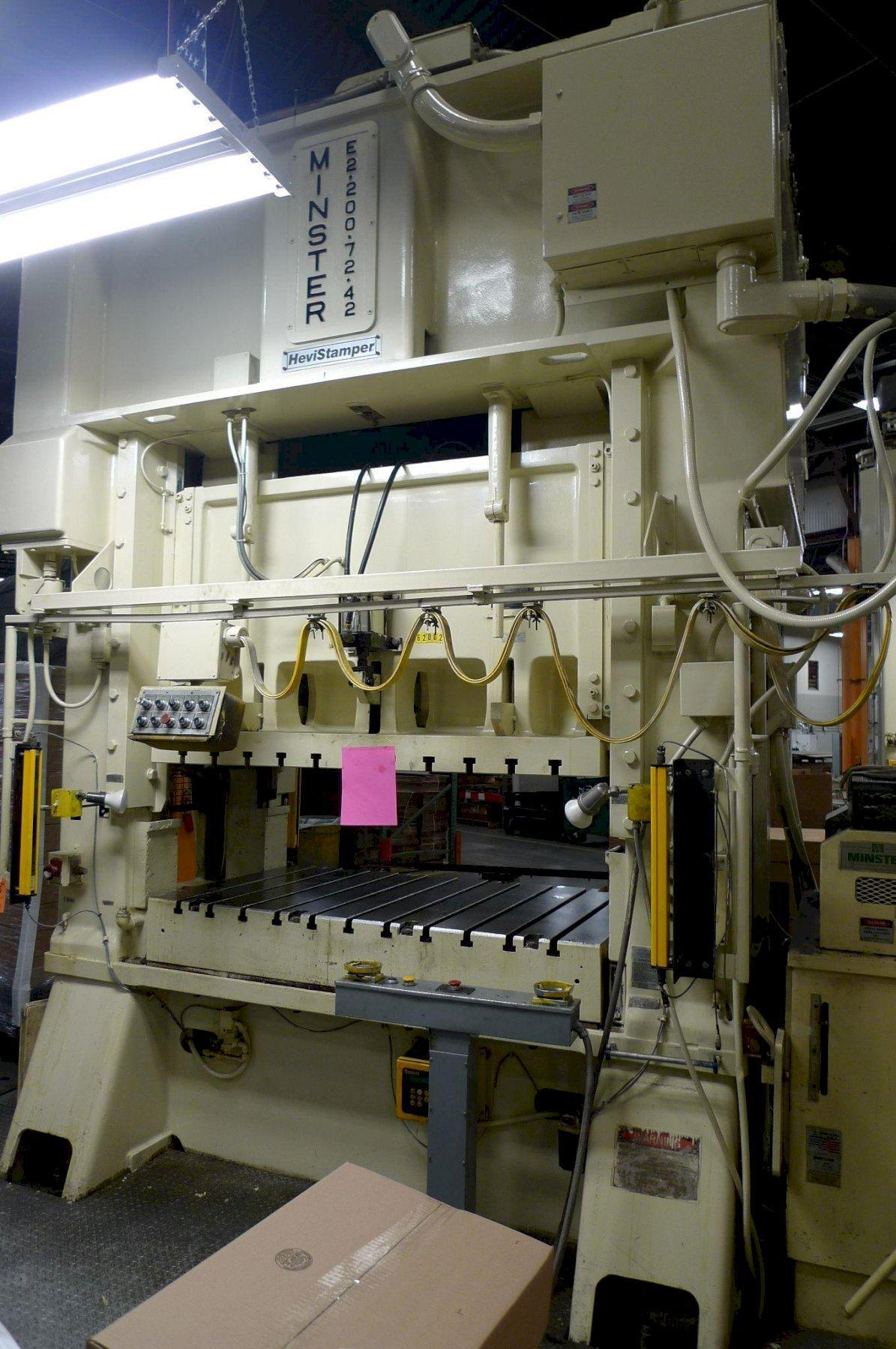 200 Ton Minster SSDC Press
