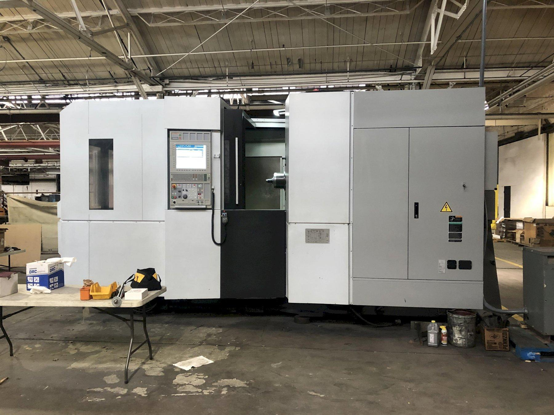 Mori Seiki NH6300DCGII CNC Horizontal Machining Center, MSX701IV (Fanuc 31i), 24.8