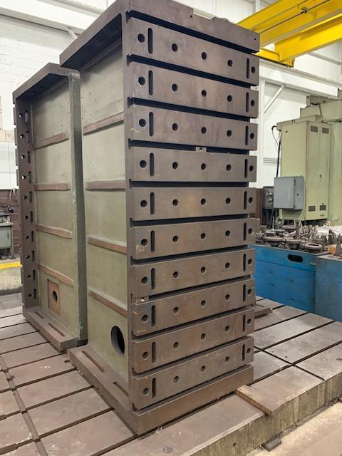 Giddings & Lewis Box Type Angle Plates