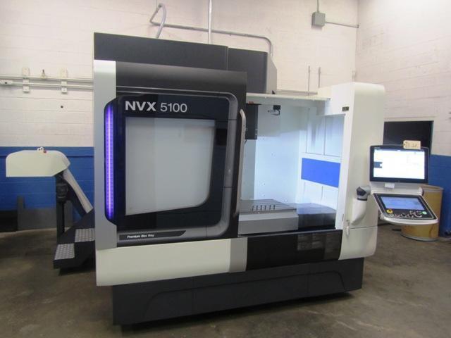 DMG MORI NVX 5100 3-AXIS CNC VERTICAL MACHINING CENTER