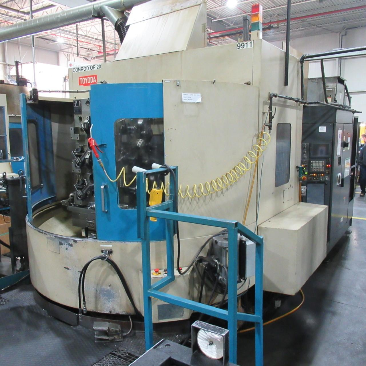 TOYODA FA-630 HORIZONTAL MACHINING CENTER, HIGH PRESSURE THROUGH SPINDLE COOLANT, YEAR 2003