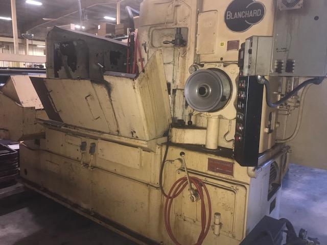 "Blanchard #22-42, 42"" Rotary Surface Grinder, 79', Certified"