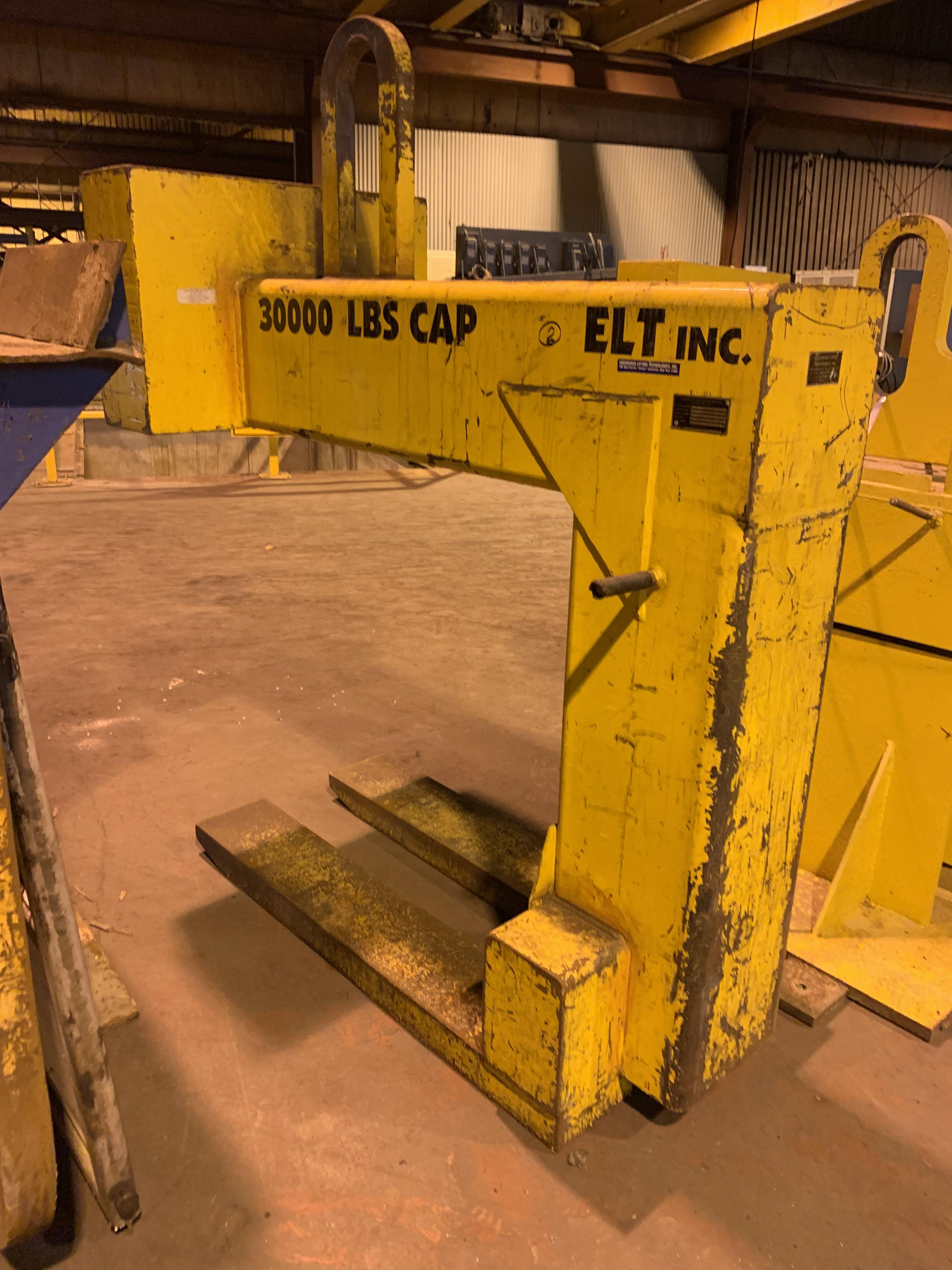 "30,000 LBS X 48"" ENGINEERED LIFTING TECHNOLOGIES SKID LIFTER: STOCK #10602"