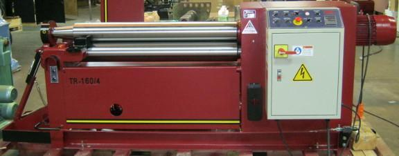 1 - NEW LEMAS HYDRAULIC 3-ROLL INITIAL-PINCH PLATE BENDING ROLL, MODEL #: TR 160/4