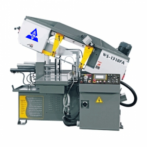 "13"" X 18"" ACRA MODEL W1318SSAV SEMI-AUTO HORIZONTAL MITER CUTTING BANDSAW WITH HYDRAULIC VISE"