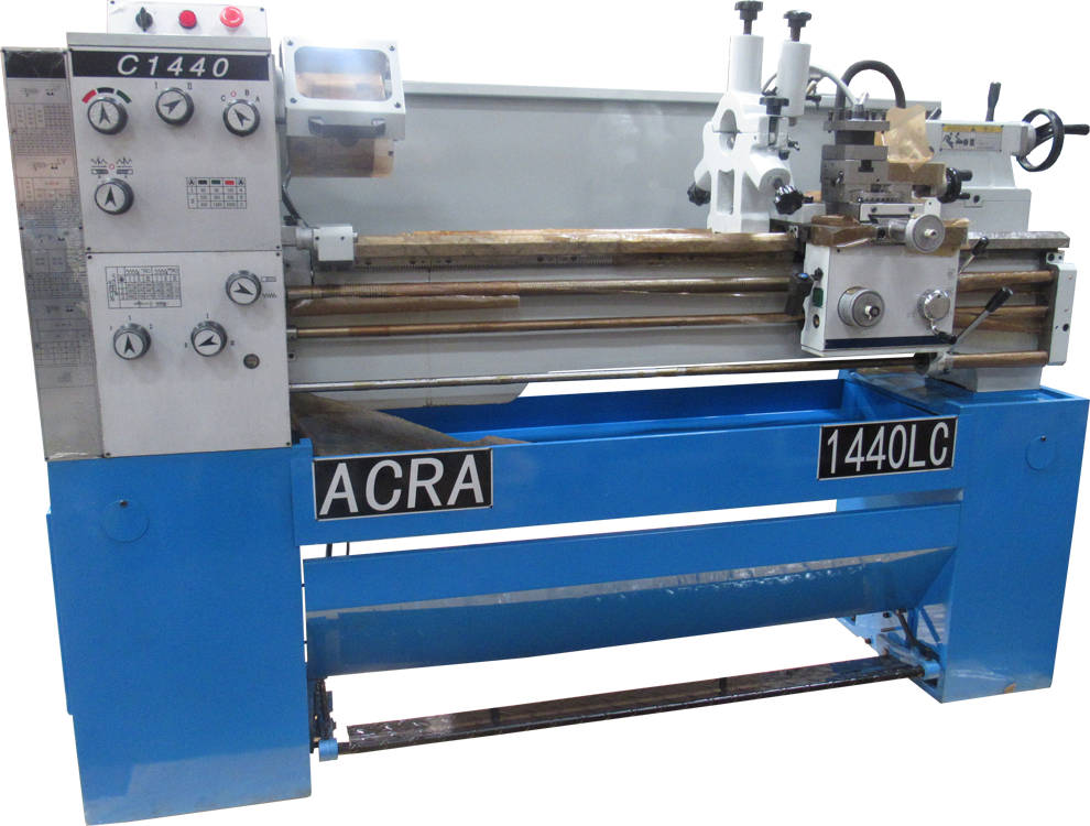 "14"" X 40"" ACRA MODEL 1440LC PRECISION GAP BED ENGINE LATHE"