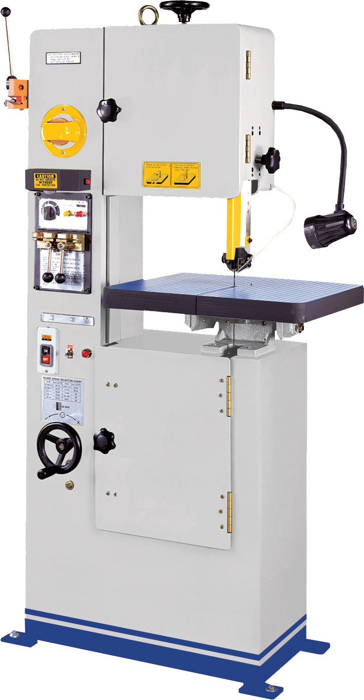 ACRA MODEL KB-45 VERTICAL MANUAL METAL CUTTING BANDSAW (1 PHASE)