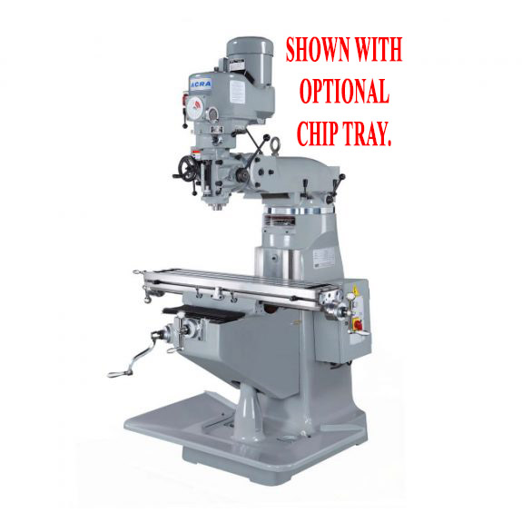 ACRA LCM50 VERTICAL VARIABLE SPEED MILLING MACHINE