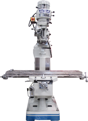 ACRA MODEL 2S VERTICAL STEP PULLEY MILLING MACHINE