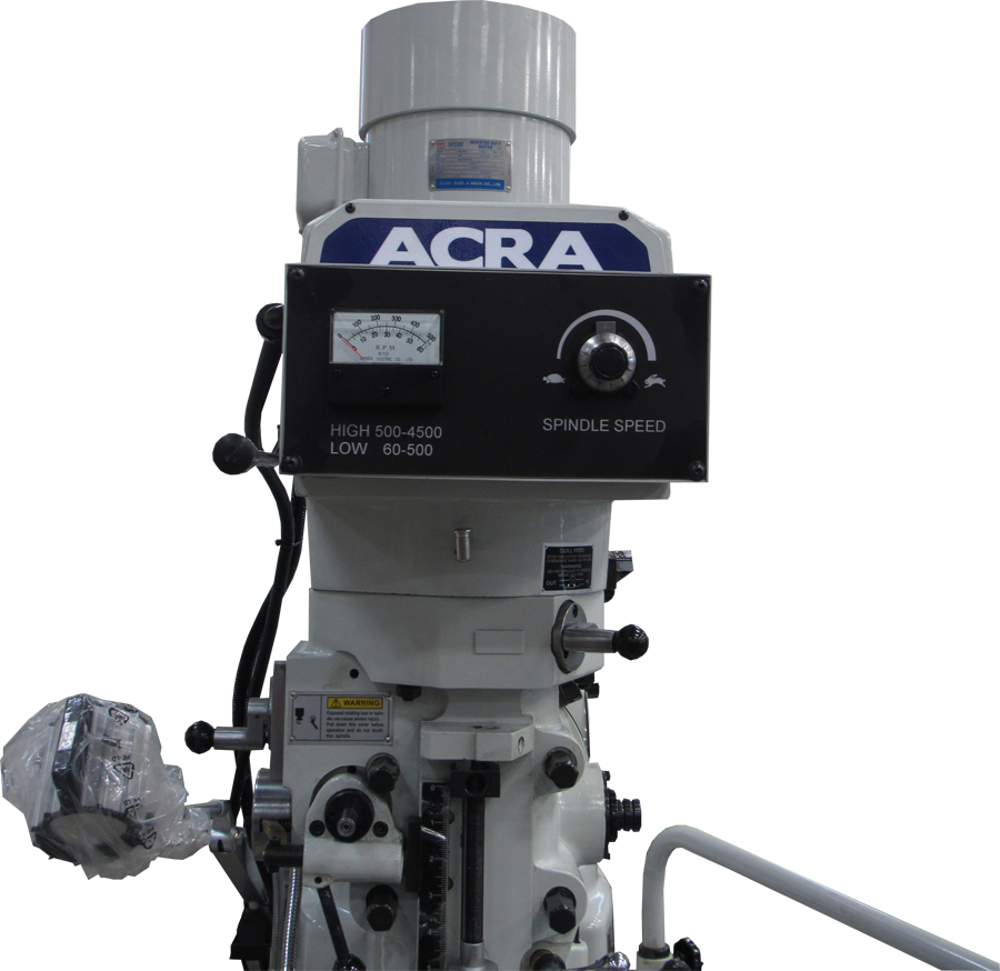 ACRA MODEL 5AC INVERTER VERTICAL MILLING MACHINE