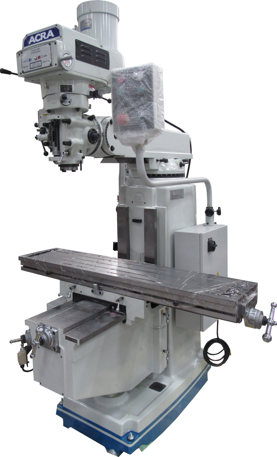 ACRA MODEL 5V VARIABLE SPEED VERTICAL MILLING MACHINE
