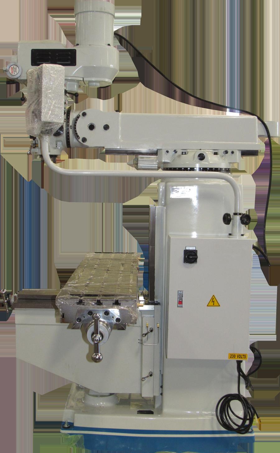 ACRA MODEL 5V VARIABLE SPEED VERTICAL MILLING MACHINE