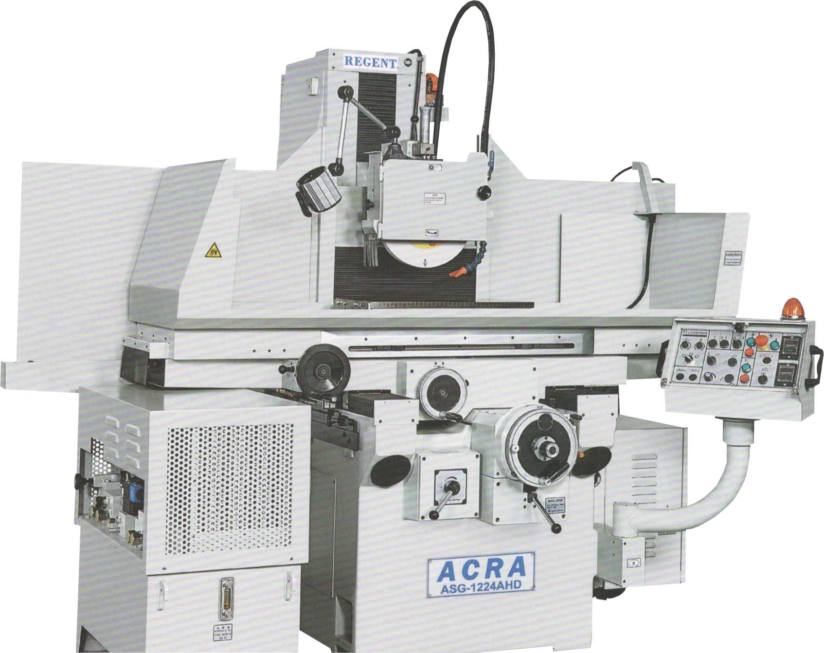 "12"" X 24"" ACRA MODEL 1224AHD AUTOMATIC 3 AXIS HIGH PRECISION SURFACE GRINDER"