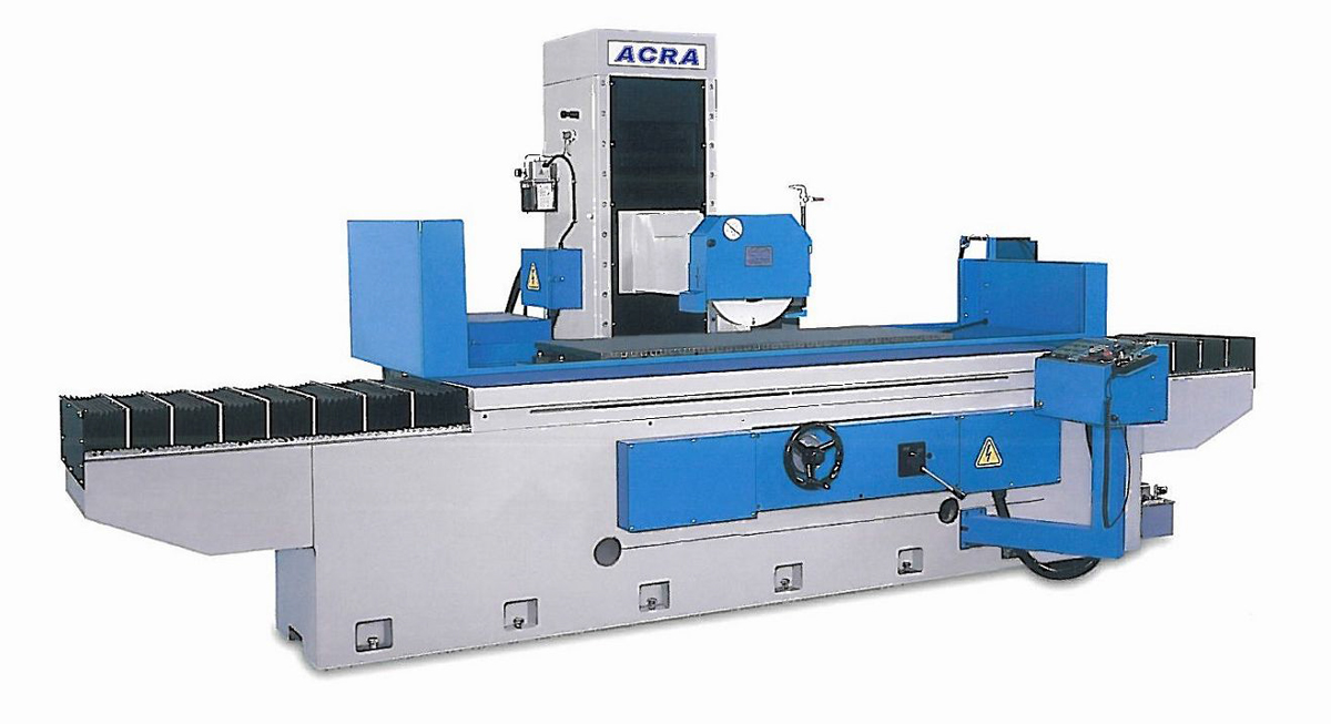 "24"" X 80"" ACRA MODEL ASG-2480HSR NC CONTROLLED FULLY AUTOMATIC 3 AXIS HIGH PRECISION COLUMN TYPE SURFACE GRINDER"