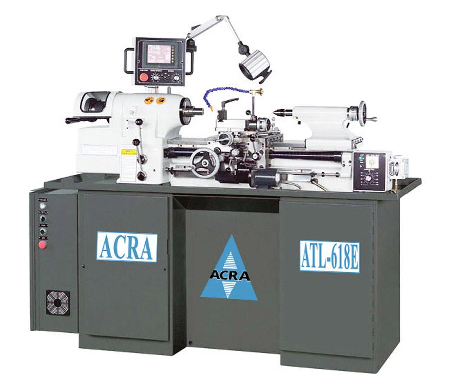 ACRA MODEL 618E PRECISION HIGH SPEED/HIGH ACCURACY TOOLROOM LATHE WITH DIGITAL THREADING CONTROL