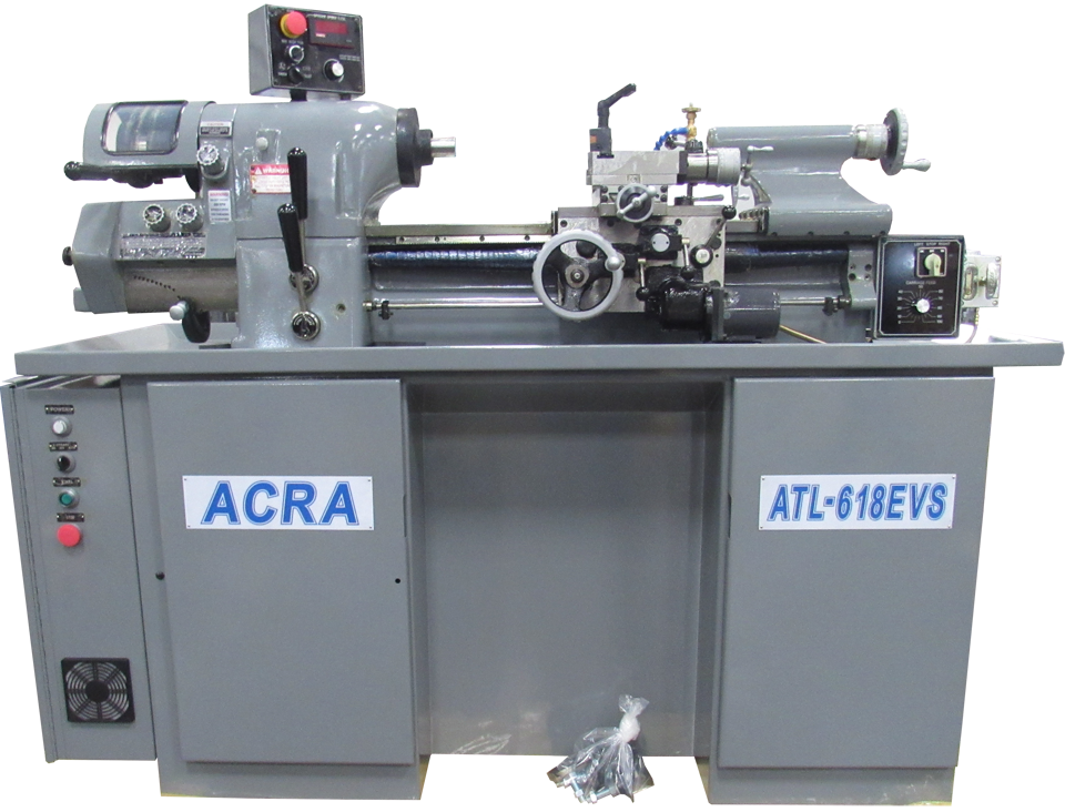 ACRA 618EVS PRECISION HIGH SPEED/HIGH ACCURACY TOOLROOM LATHE WITH INVERTER (3 HP)