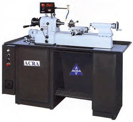 ACRA MODEL 27EVS (ATL) HIGH SPEED/HIGH ACCURACY SECOND OPERATION TOOLMAKER'S LATHE