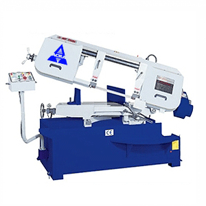 ACRA MODEL BS330SSA SEMI-AUTO VARIABLE SPEED MITERING HORIZONTAL BANDSAW