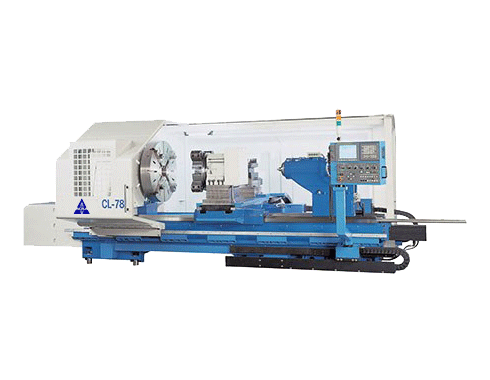 "59""X80"" ACRA MODEL CL-78B HOLLOW SPINDLE CNC FLAT BED LATHE WITH FANUC OITD CONTROLLER"