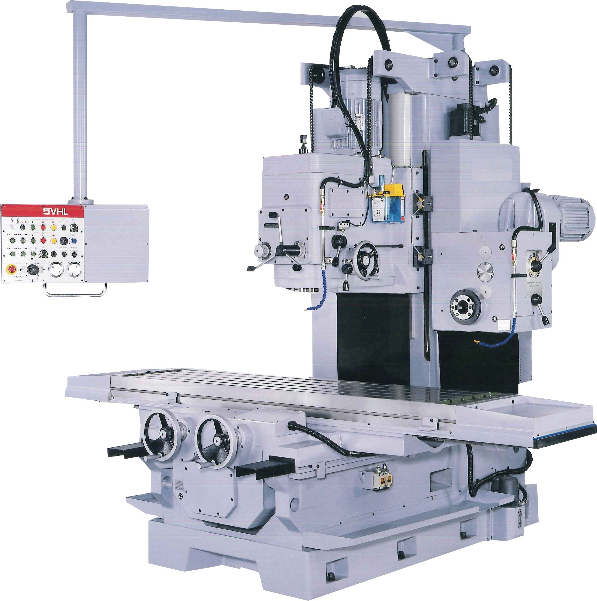 ACRA MODEL 5VHL HEAVY DUTY BED TYPE WITH HORIZONTAL & VERTICAL BORING & MILLING MACHINE