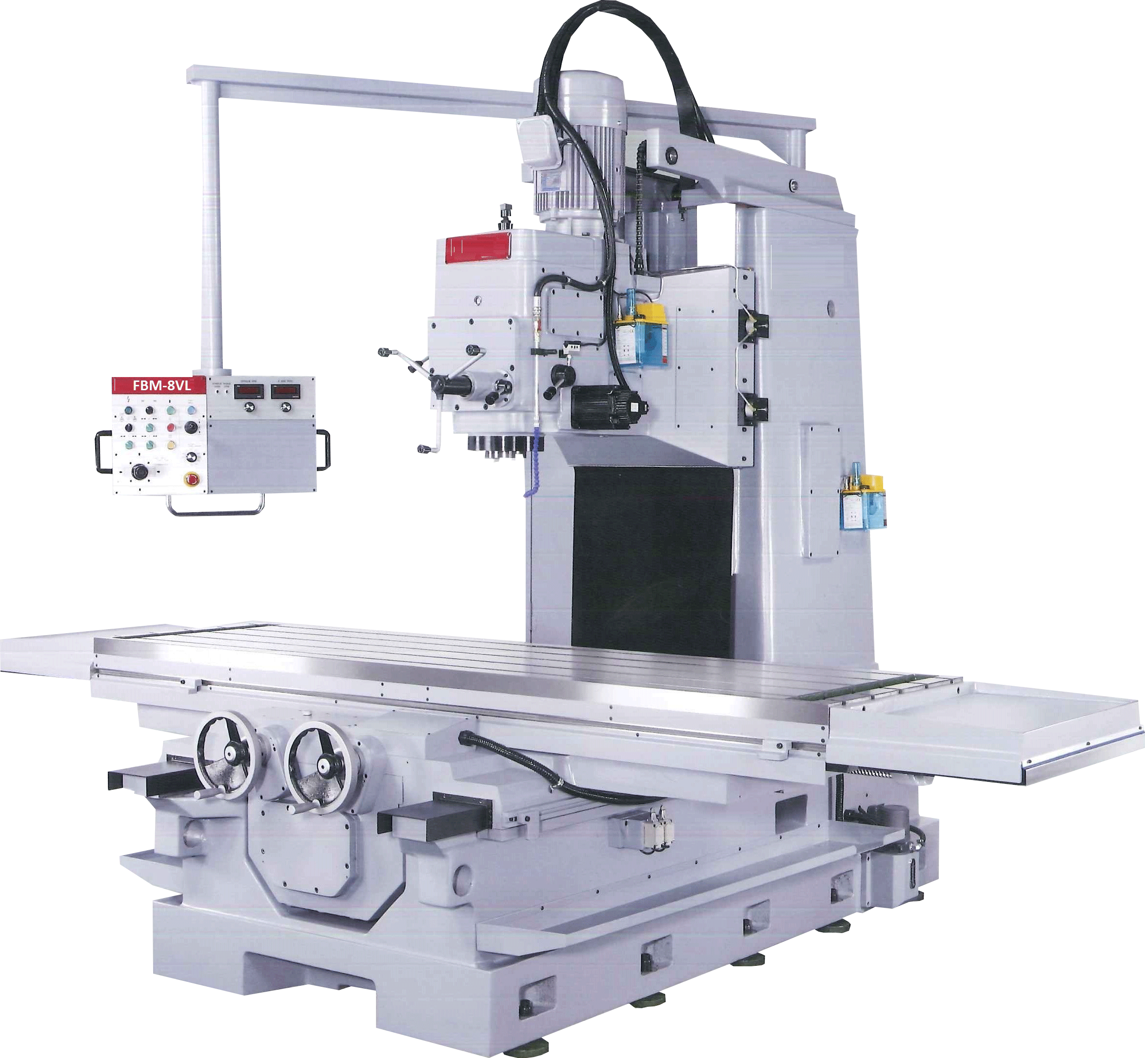 ACRA MODEL 8VL HEAVY DUTY BED TYPE VERTICAL BORING & MILLING MACHINE