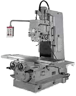 ACRA MODEL 5VL HEAVY DUTY BED TYPE VERTICAL BORING & MILLING MACHINE