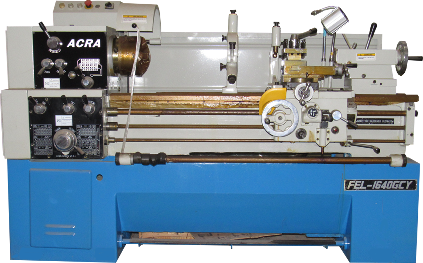 "16"" X 40"" ACRA MODEL 1640GCY PRECISION GAP BED ENGINE LATHE"