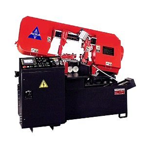 "12.9"" X 12.9"" ACRA MODEL 330AE FULLY AUTOMATIC MITERING HYDRAULIC BANDSAW"