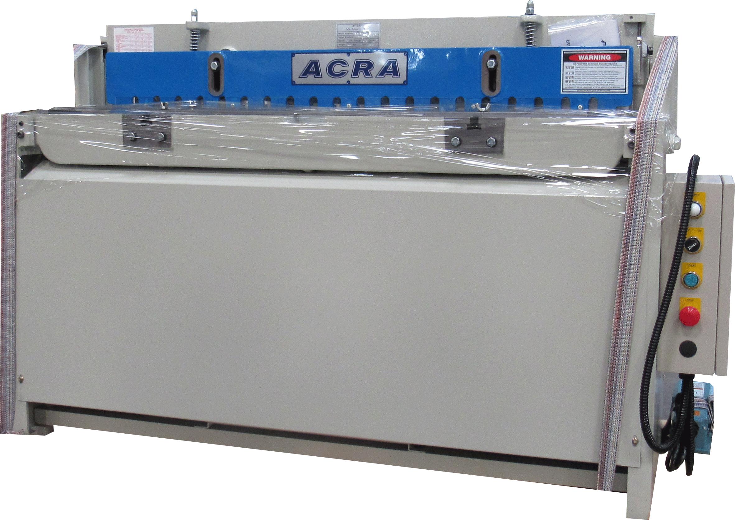 """16 GA. X 52"""" ACRA MODEL FS-P5216H HYDRAULIC POWER METAL CUTTING SHEAR"""
