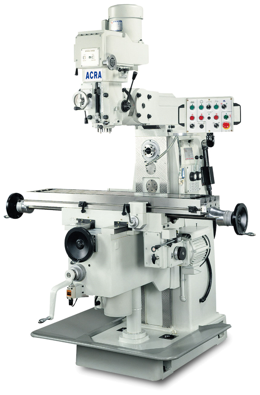 ACRA MODEL LC-25VH VERTICAL & HORIZONTAL VARIABLE SPEED MILLING MACHINE