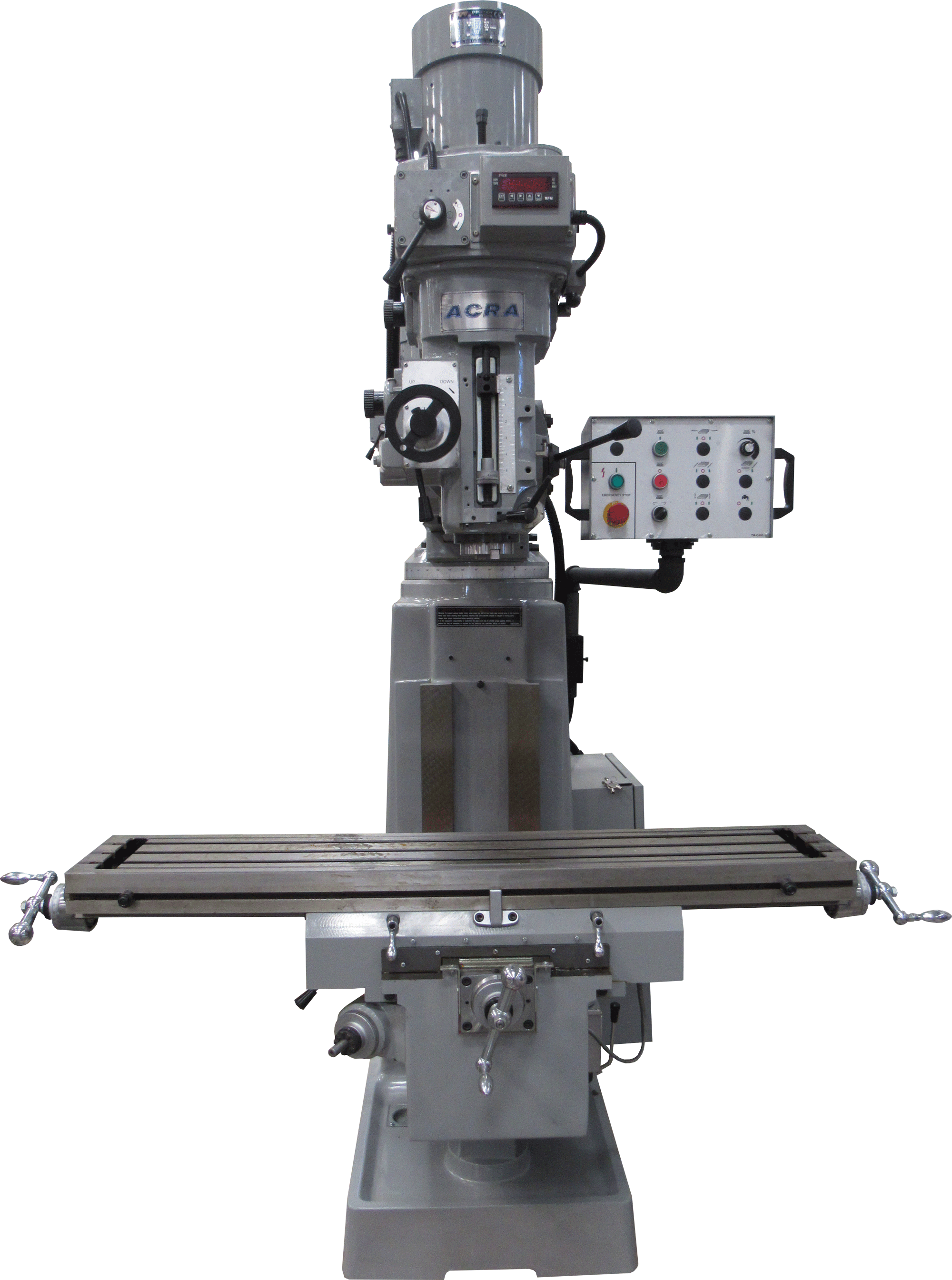 ACRA MODEL LCTM-3AC VERTICAL VARIABLE SPEED MILLING MACHINE WITH A/C INVERTER DRIVE