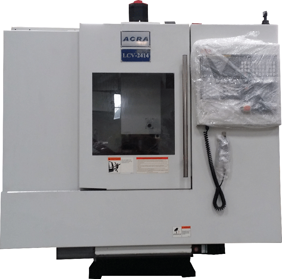 ACRA MODEL LCV-2414 MINI MILL MACHINING CENTER WITH FAGOR 8055I CONTROLLER
