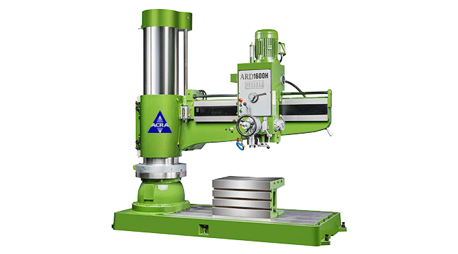 ACRA MODEL ARD1600H RADIAL ARM DRILLING MACHINE WITH HYDRAULIC CLAMPING