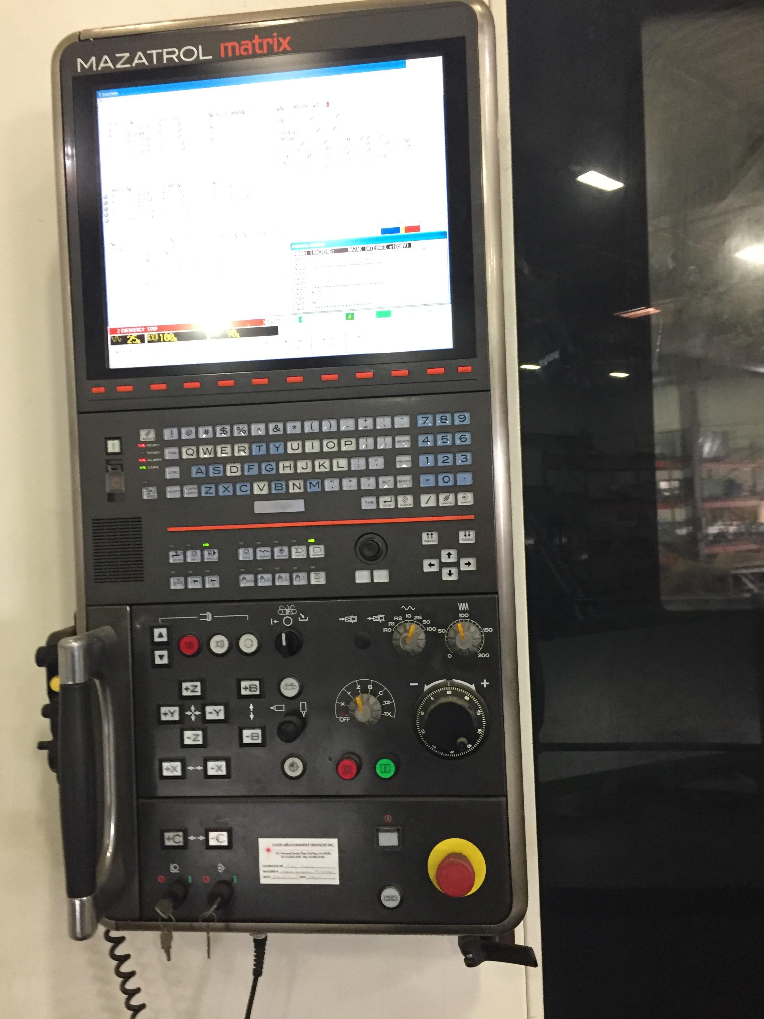 Mazak Integrex E1850-V12-II VBM 2011