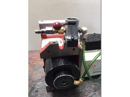 Haas HA5C Rotary Table Indexer with: Air Collet Closer, 17 Pin, and DC Motor.