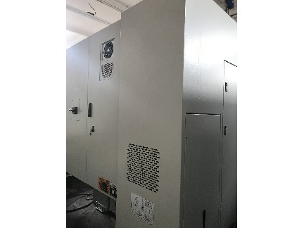 Hardinge Bridgeport XR 760 VMC 2007 with: Fanuc 18i-MB Control, 12K RPM, Swing Arm 30-ATC, and Chip Conveyor.