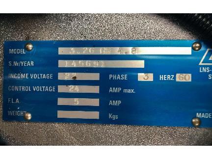 LNS 3.26 HS 4.8 Hydrobar Feeder 2013