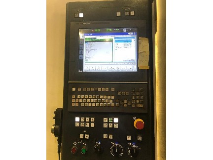 Makino A81nx HMC 2017, with: Fanuc Professional 6 Control, Indexing Table, 136-ATC, Thru Spindle Coolant, and Chip Conveyor.